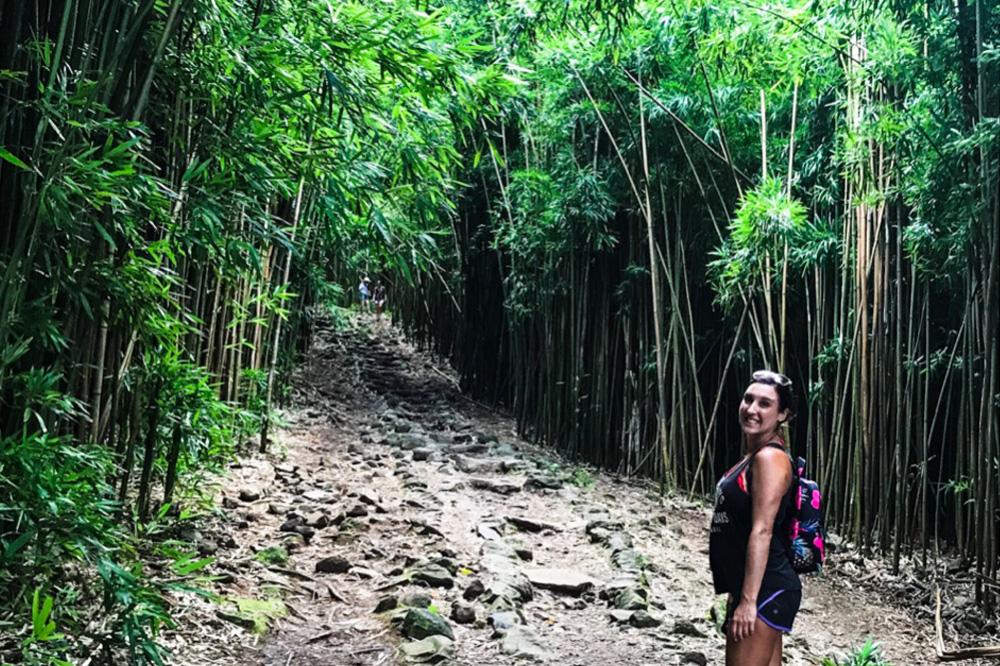maui Bamboo forest hike