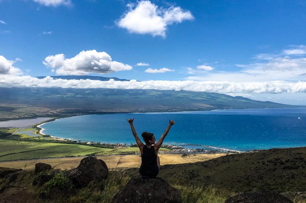 Maui South Side Kihei hiking